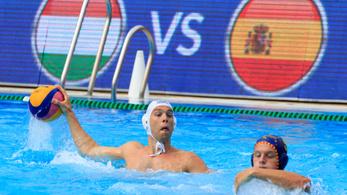 Vízilabda-világliga: viharos meccsen, ötméteresekkel verte a spanyolokat a magyar csapat