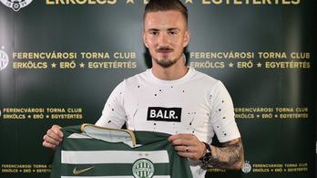A Fradi 65 milliót fizetett a két hét múlva ingyen igazolható futballistáért