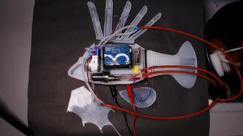 Művér hajt meg egy robotot