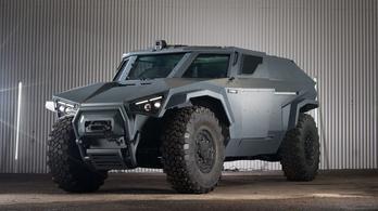 Jó trükköt tud a Volvo katonai terepjárója
