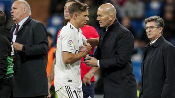 Távozik a Real Madrid játékosa, de nem megy messzire