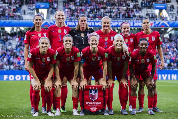 Az amerikai női futballválogatott