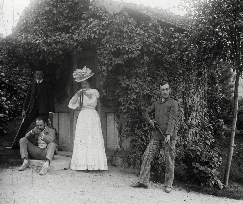 Schoch-ék gellérthegyi nyaralója a Bérc utca környékén, 1909