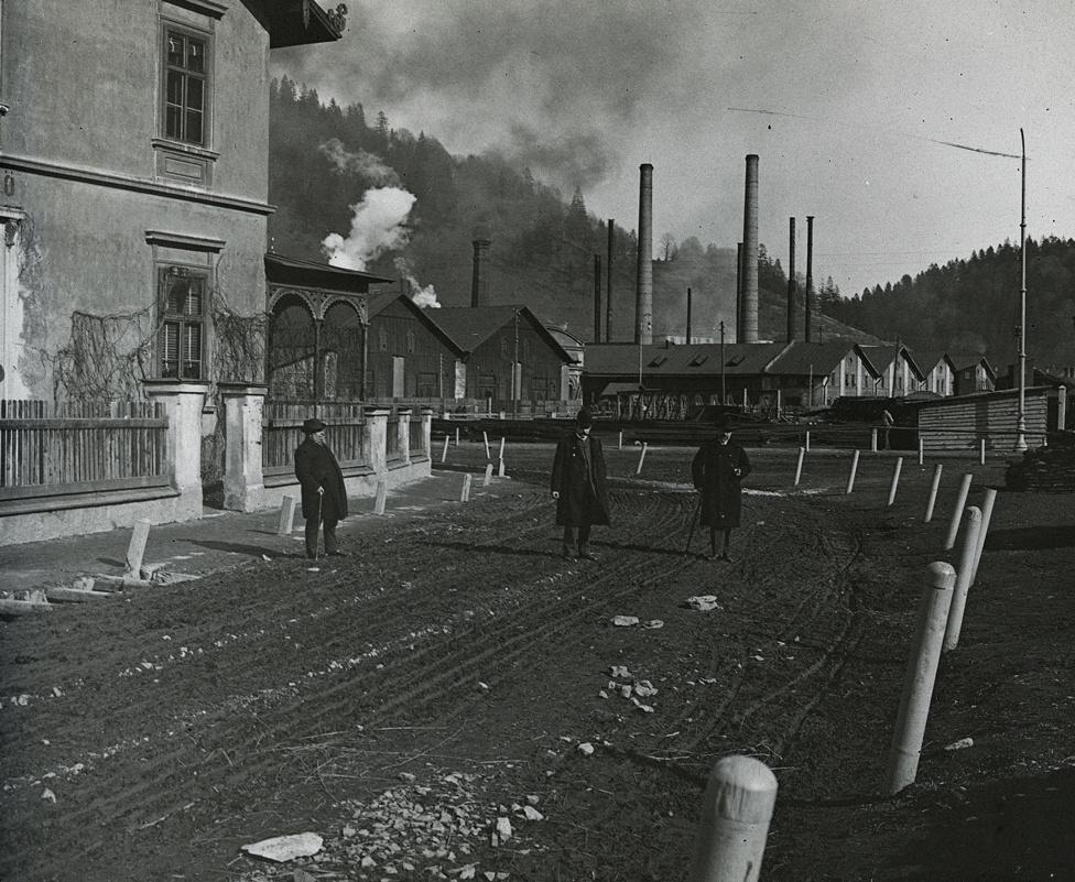 A brezovai királyi vasgyár 1902-ben (ma Szlovákia)