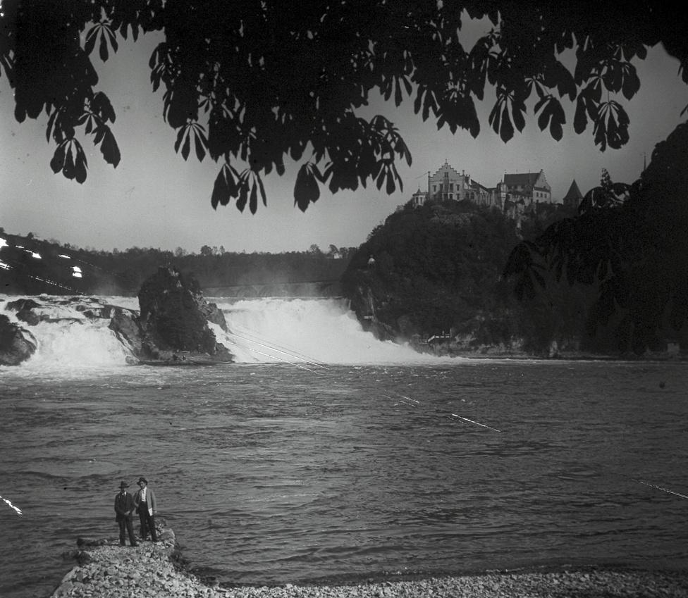 A Rajna vízesés a svájci Schaffhausenben, 1905