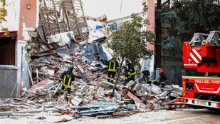 Gázrobbanás miatt dőlhetett össze egy olasz ház