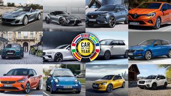 Ebből az 55 új típusból kerül ki a 2020-as Év Autója