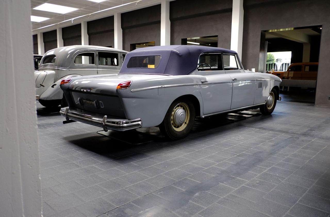 1950-ben ismét a Spohnnál landolt az autó, ahol a régi karosszériát eltávolították, felújították a mechanikát, beszereltek egy új, HL42-es (4,2 literes, hathengeres) motort, majd az amerikai Brooks Stevens stílusát (Studebaker Hawk GT, Jeep Wagoneer) követő, de ettől még egy hét méter hosszú autón azért nem valami szerencsésen mutató karosszériát alkottak rá. A vállalat 38 ezer márkát fizetett a förtelmes bódéért - akkor, amikor a Mercedes-Benz 300SL 29 ezerbe került...