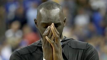 Hatalmasat koppant a 231 centis óriás az NBA-drafton