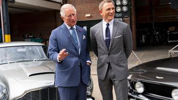 Károly herceg már látott egy jelenetet az új James Bond-filmből