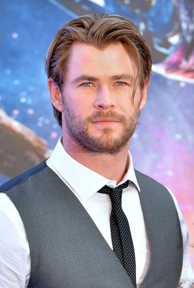 Chris HemsworthA színész legikonikusabb karaktere egyértelműen Thor, Odin fia