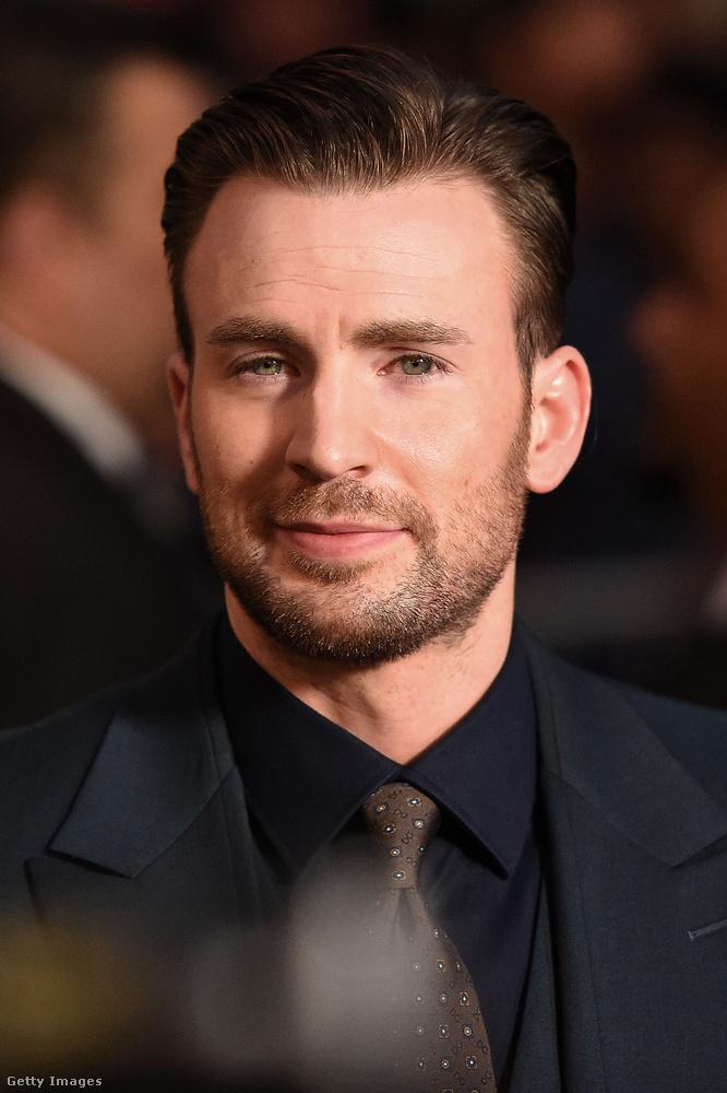 Chris EvansVissza a Marvel-hősökhöz, Evans is ebben az univerzumban teljesedett ki