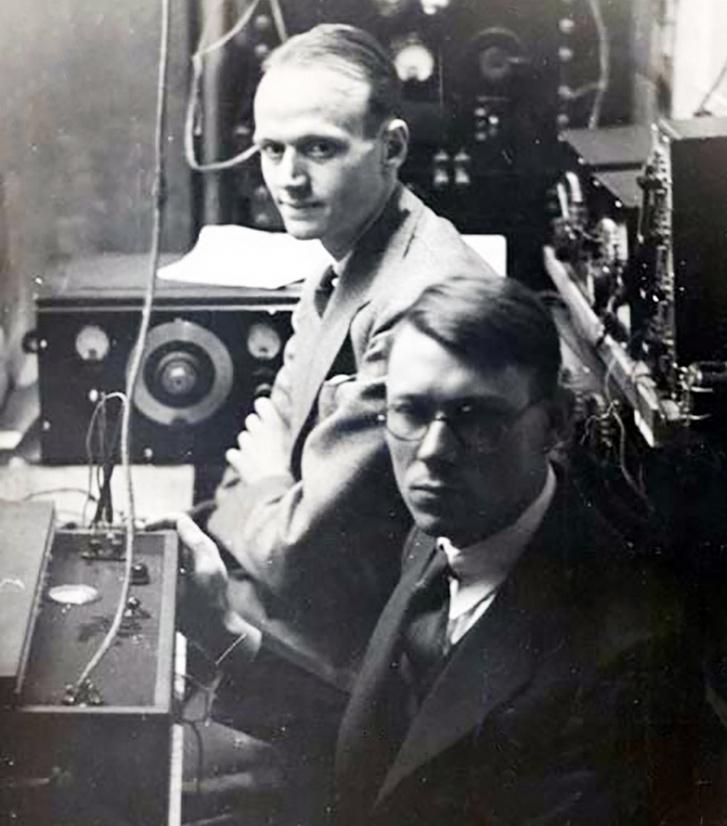 A két tudós 1936-ban