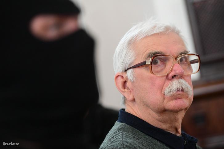 Győrkös István 2018 áprilisi tárgyalásán