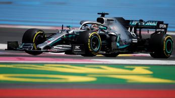 Hamilton és Bottas gyorsan a gázra lépett a Paul Ricard-on