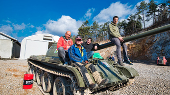 OMR Beindítjuk Szlovéniát - Tankok világa