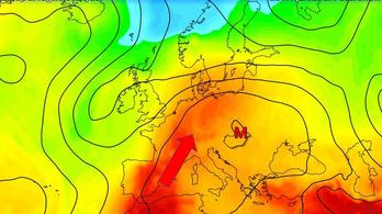 Forróság közelít Európa felé Afrikából