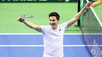 Balázs Attila döntős a pozsonyi challenger-tornán