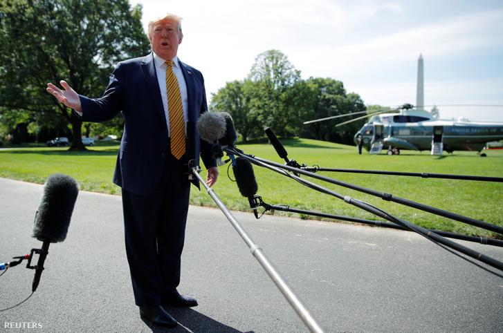 Donald Trump 2019. június 22-én.