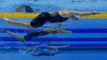 Milák Kristóf és Jakabos Zsuzsanna aranyérmes a római úszóversenyen