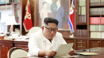 Kim Dzsongun kiváló levelet kapott Trumptól