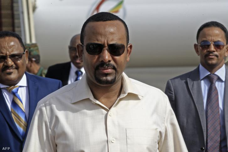 Abij Ahmed Ali 2019. június 7-én, Szudánban