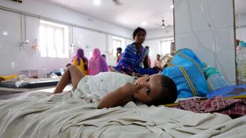 Rengeteg gyermekáldozatot szedett az agyvelőgyulladás Indiában