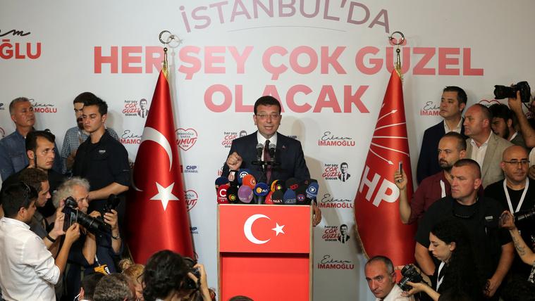 Az ellenzék legyőzte Erdoğan jelöltjét a megismételt isztambuli választáson