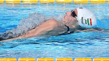 Vasárnap is taroltak a magyar úszók Rómában