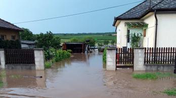 Egy borsodi falut is elárasztott a villámárvíz