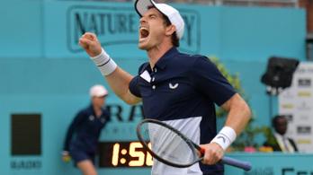 Murray csípőműtétje után győzelemmel tért vissza