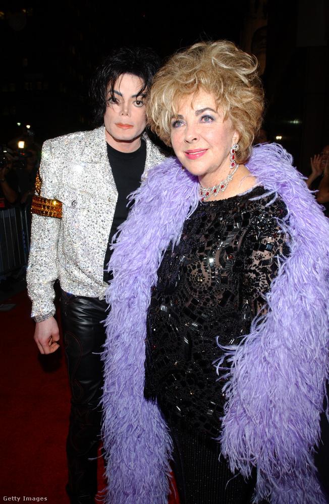 Elizabeth Taylor is jóban volt az énekessel