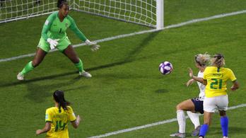Drámai meccsen ejtették ki a brazilokat a női futball-vb-n