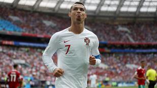 Cristiano Ronaldo kockahasán sakkozni is lehetne