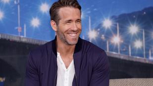 Megint trollkodott Ryan Reynolds, ezúttal saját ginjét dicsérte az Amazonon