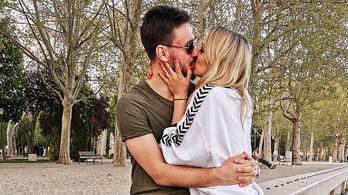 Összeházasodott Lékai Máté és Kiss Ramóna