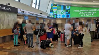30 embert felejtett Bécsben a Wizz Air, családok is szétszakadtak