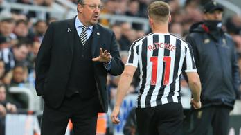 Rafa Benítez edző távozik a Newcastle-től