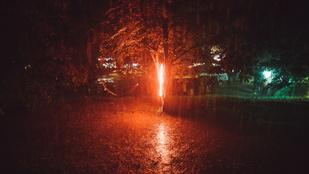 Kisebb pánik tört ki a Kolorádó fesztiválon a vihar miatt