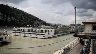 Újra Budapesten van a Viking Sigyn