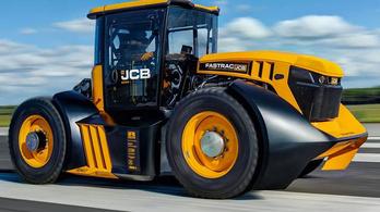 Kétszáz felett száguldott a világ leggyorsabb traktora
