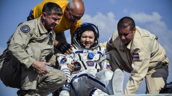 Három űrhajós érkezett vissza a Nemzetközi Űrállomásról