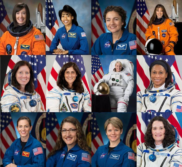 A NASA űrhajósnői