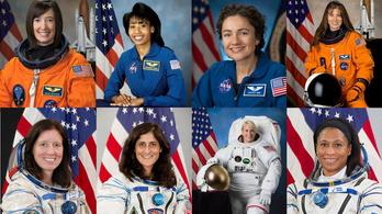 Az egyik Holdra utazó űrhajós biztos nő lesz