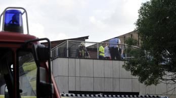 Tűz a MOM Sport tetején: gondatlanságból elkövetett emberölés gyanújával nyomoznak