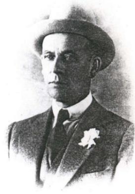 Camillo Negroni gróf, a híres koktél névadója.
