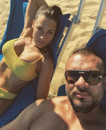 Gáspár Laci és felesége Jesolo tengerpartján lazítottak.