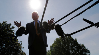 Belefáradtak az amerikaiak a Trump-hírekbe