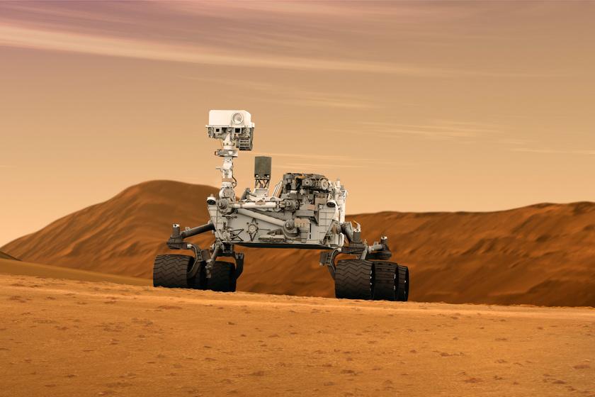 Curiosity marsjáró