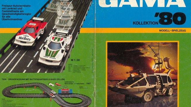 1980-as Gama katalógus